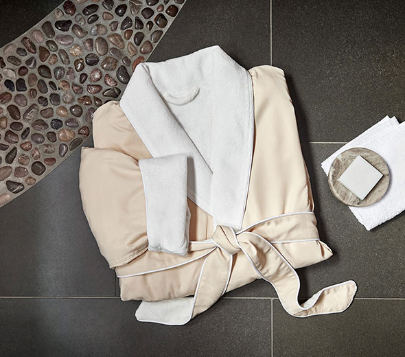 8263f890f0 Buy Luxury Hotel Bedding from JW Marriott Hotels - Microfiber Spa Robe