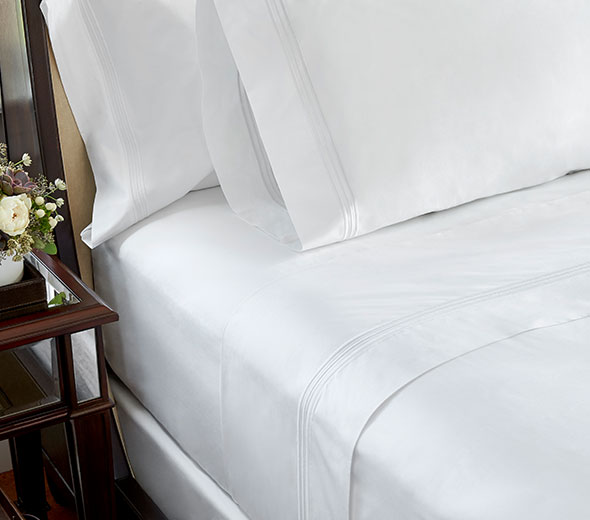 Buy luxury hotel bedding from jw marriott hotels premium for Luxury hotel 750 collection sheets