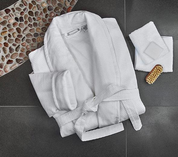 1592a82c29 Buy Luxury Hotel Bedding from JW Marriott Hotels - Waffle Bathrobe