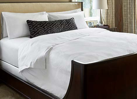 Geo Bed & Bedding Set