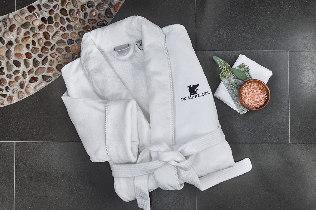 Hotel Collection Velour Luxury Bathrobe